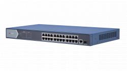 "Коммутатор Ethernet с PoE 19"" Hikvision DS-3E0526P-E"