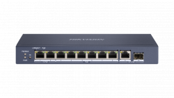 Коммутатор Ethernet с PoE настольный Hikvision DS-3E0510HP-E