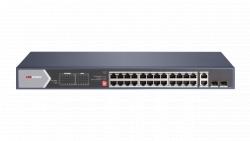 "Коммутатор Ethernet с PoE 19"" Hikvision DS-3E0528HP-E"