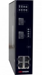 Коммутатор Ethernet с PoE промышленный Hikvision DS-3T0306P