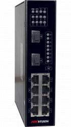 Коммутатор Ethernet с PoE промышленный Hikvision DS-3T0310P