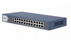 """Коммутатор Ethernet 19"""" Hikvision DS-3E0524-E(B)"""