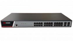 """Коммутатор Ethernet 19"""" управляемый Hikvision DS-3E2528"""