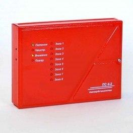 Прибор приёмно-контрольный пожарный ПС 4-2