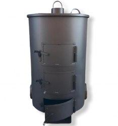 """Садовая печь ( для сжигания мусора ) """"МаУгли"""" 240 (4мм)"""
