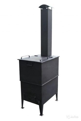 """Дачная печь для сжигания мусора """"С дымоходом"""""""