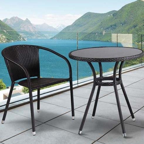 Комплект мебели для балкона из искусственного ротанга Bridge