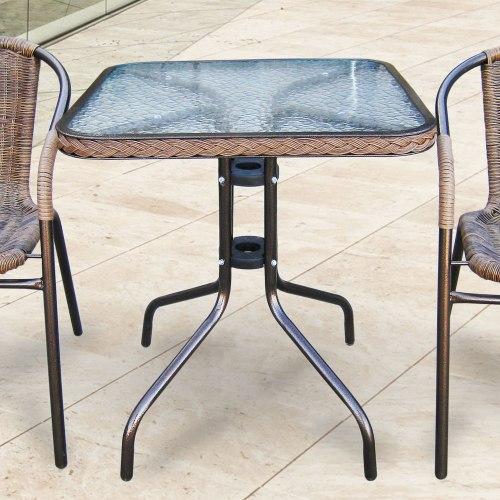 Комплект мебели для балкона из искусственного ротанга Асоль-2А