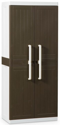Шкаф Wood line L (глубокий), 2-х дверный с 4 полками.