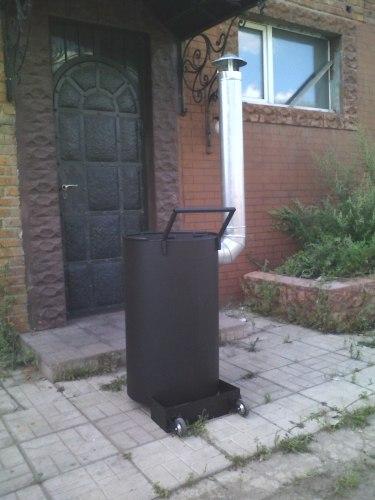 """Печь для сжигания садового мусора """"Золка"""" 200Л"""