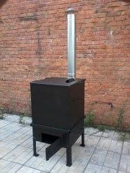 Мусоросжигатель садовый НАДА 325л (сталь 3 мм)