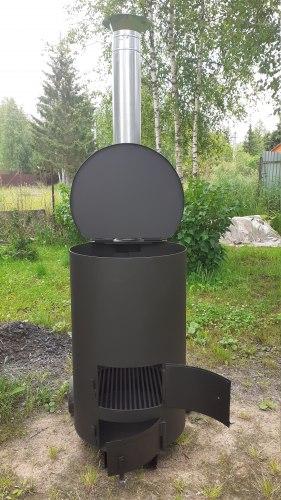 """Печь """"Уголек"""" 240 утилизатор садового мусора"""