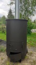 """Печь """"Смуглянка"""" 240 утилизатор садового мусора"""