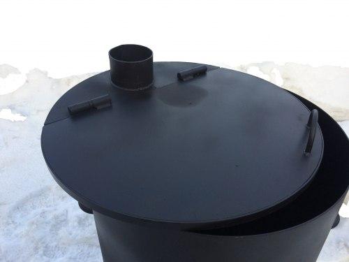 Крышка мусоросжигательной печи КМ-3