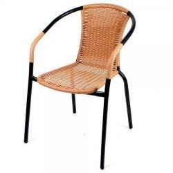 стул плетеный из искусственного ротанга