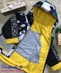 Деми куртка на мальчика модель - 1072KC