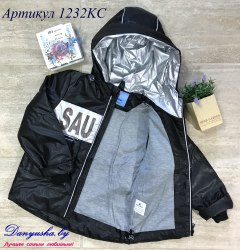 Деми куртка на мальчика модель - 1232KC