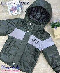 Деми куртка на мальчика модель - 1243KZ