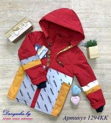 Деми куртка на мальчика модель - 1294KK