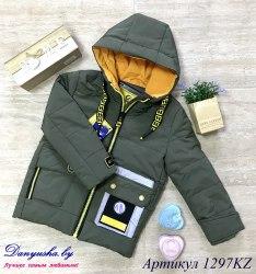 Деми куртка на мальчика модель - 1297KZ