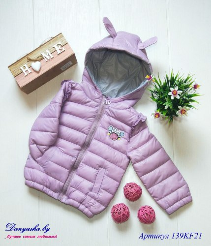 Куртка деми на девочку модель - 139KF21