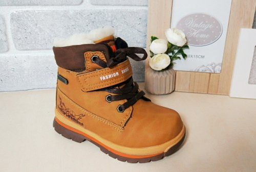 Ботинки на мальчика зима модель - 9BK11