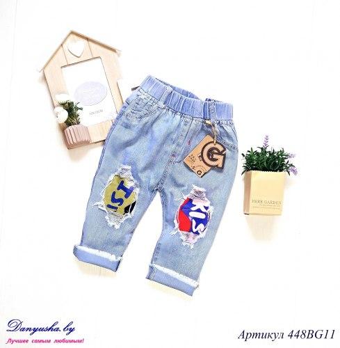 Бриджи джинсовые на мальчика модель - 448BG11