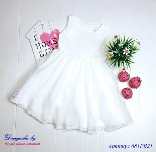 Платье на девочку модель - 681PB21