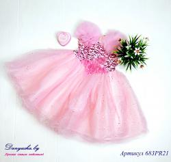 Платье на девочку модель - 683PR21