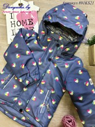 Куртка деми на девочку (Мембрана) модель - 891KS21