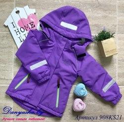 Куртка деми на девочку (Мембрана) модель - 908KF21
