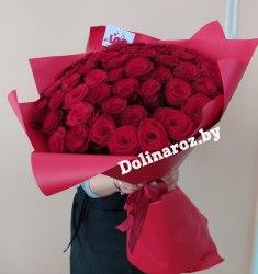 """Букет роз """"Модник"""" 51 роза"""