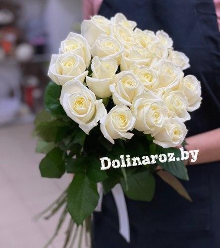 "Букет роз ""Жемчуг"" 21 роза"