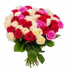 """Букет роз """"Летний Микс"""" 41 роза"""