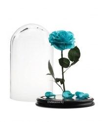 Роза в стеклянной колбе (тиффани)