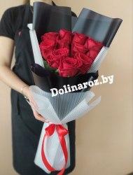 """Букет роз """"Конфетка"""" 11 роз"""