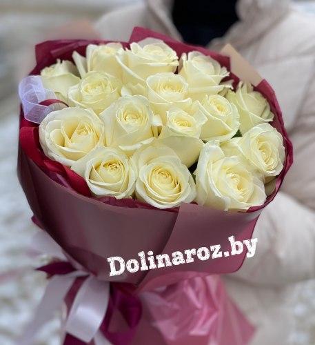 """Букет роз """"Болеро"""" 15 роз"""