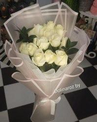 """Букет роз """"Твоя улыбка"""" 15 роз"""