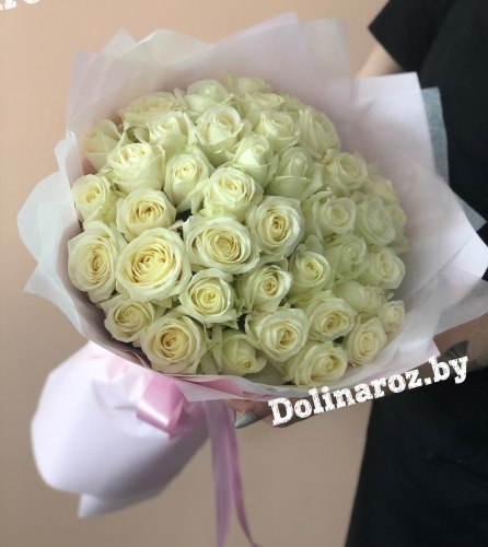 "Букет роз ""Ландыш"" 41 роза"