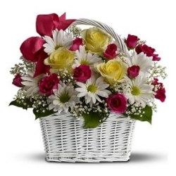"Корзина цветов ""Милота"""