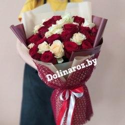 """Букет из роз """"Вальс"""" 31 роза"""