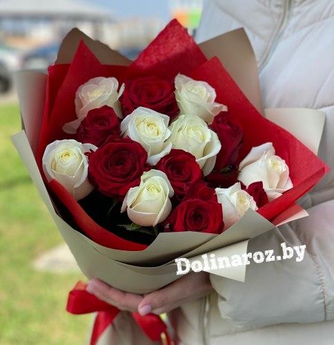 """Букет роз """"Маргарита"""" 11 роз"""