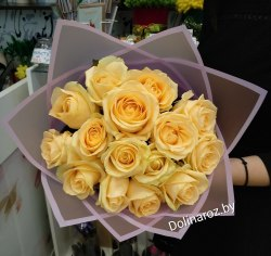 """Букет роз """"Блаженство"""" 15 роз"""