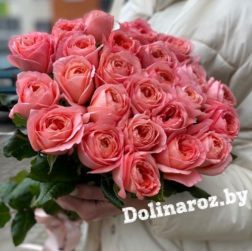 "Букет из роз ""Пионовидный"" 25 роз"