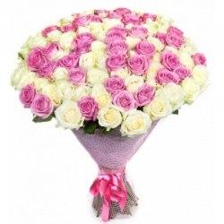 """Букет роз """"Чувства"""" 51 роза"""