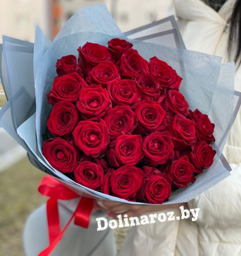 """Букет роз """"Лидия"""" 25 роз"""
