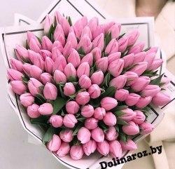 """Букет тюльпанов """"Ягодка"""""""