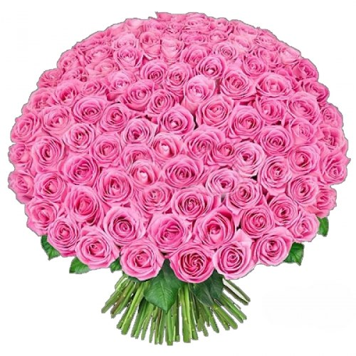 "Букет роз ""Big Pink"" 151 роза"