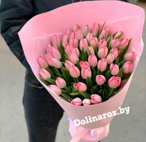 """Букет тюльпанов """"Каролина"""""""