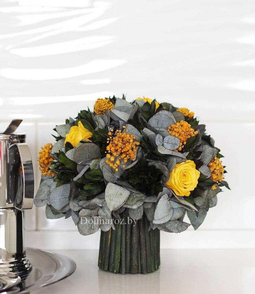 Купить стабилизированные цветы в украине